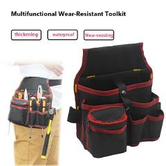 DIDIHOU High Quality Hardware Mechanics Canvas Tool Bag Utility Pocket Pouch Utility Bag With Belt