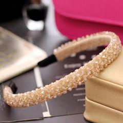 Girls Shiny Luxury Rhinestone Hair Band High Quality Diamond Hair Hoop Accessories for Women Crystal Headbands Ornaments
