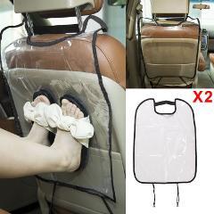 Schwarze Kinder Autositz Rücken Schutzhülle für Kinder Matte Schlamm Kick DE