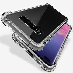 Silicone Case For samsung note 10 plus Transparent Shockproof TPU cover on the For samsung Galaxy s8 s9 s10 plus s10E s 9 fundas